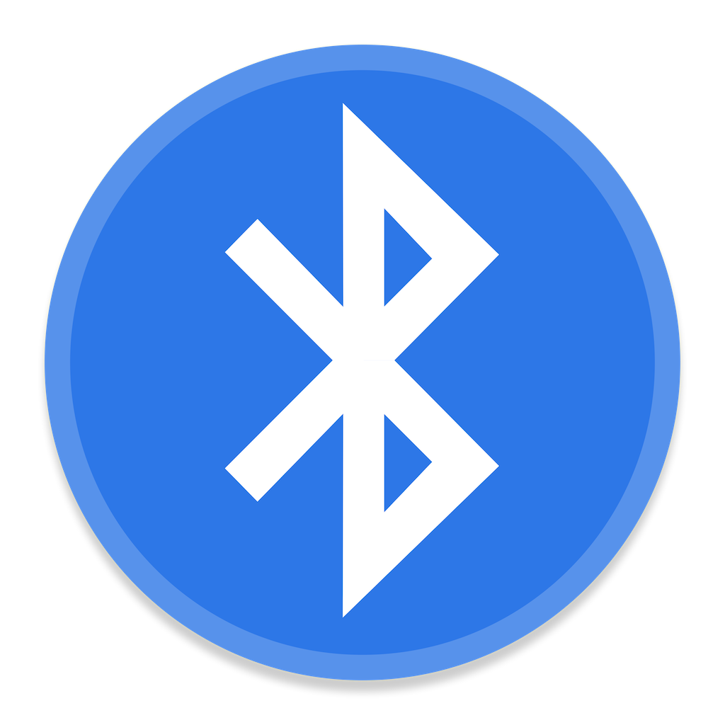 BlueTooth Icon | Button UI System Apps Iconset | BlackVariant